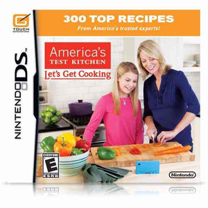 America's Test Kitchen Let's Get Cooking - DS Game
