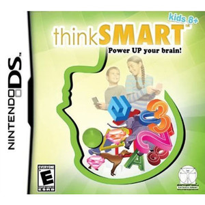 thinkSmart Power Up your brain! Kids 8+ - DS Game