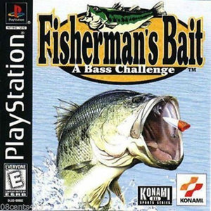 Complete Fisherman's Bait A Bass Challenge - PS1 Game
