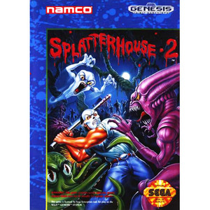 Splatterhouse 2 - Genesis Game