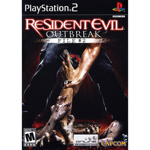 Resident Evil Outbreak File #2 - PS2 Game