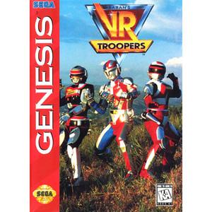 VR Troopers - Empty Genesis Box