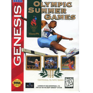 Olympic Summer Games Atlanta 1996 - Empty Genesis Box