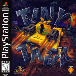 Tiny Tank - PS1 Game