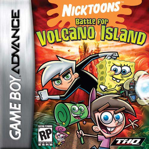 Complete Nicktoons Battle for Volcano Island - Game Boy Advance Game