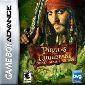 Pirates of the Caribbean Dead Man's Chest - Game Boy Advance Game