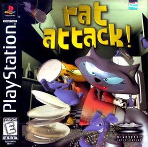 Complete Rat Attack! - PS1 Game