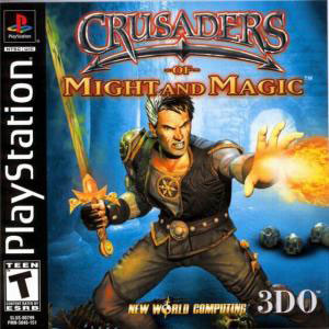 Complete Crusaders of Might and Magic - PS1 Game