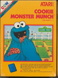 Cookie Monster Munch - Atari 2600 Game