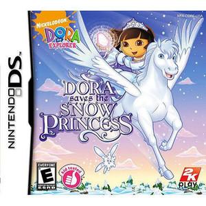 Dora Saves the Snow Princess - DS Game