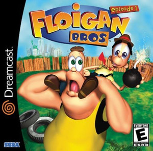 New Sealed Floigan Brothers - Dreamcast Game