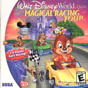 New Sealed Walt Disney World Quest: Magical Racing Tour - Dreamcast Game