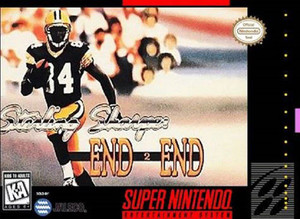 Sterling Sharpe: End 2 End - SNES Game