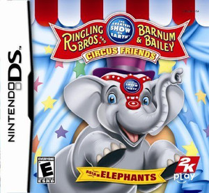 Ringling Bros. and Barnum & Bailey Circus - DS Game