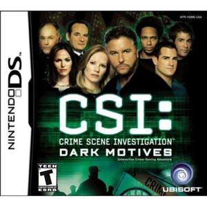 CSI: Dark Motives - DS Game