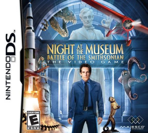 Night at the Museum: Battle of the Smithsonian - DS Game