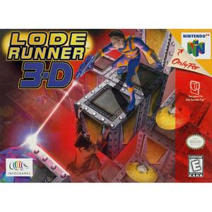 New Sealed Lode Runner 3-D - N64 Factory Sealed Game