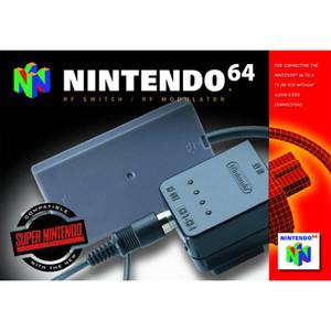RF Switch / RF Modulator Complete in Box- Nintendo 64