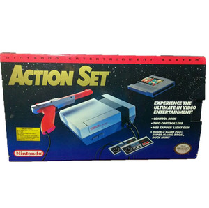 Nintendo NES Action (Red Stripe) Set Complete In Box