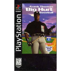 Frank Thomas Big Hurt Baseball - PS1 Game