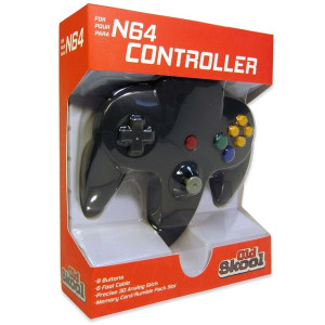 New Replica Controller Black - N64
