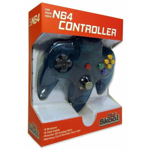 New Replica Controller Clear Turquoise - N64