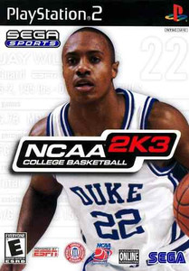 NCAA 2K3 College Basketball - PS2 Game