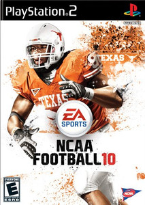 NCAA Football 10 - PS2 Game