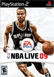 NBA Live 09 - PS2 Game
