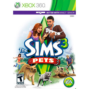 Sims 3 Pets, The - Xbox 360 Game