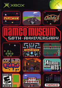 Namco Museum 50th Anniversary - Xbox Game