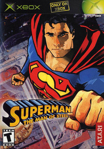 Superman Man of Steel - Xbox Game