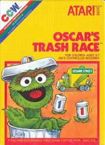 Oscar's Trash Race - Atari 2600 Game