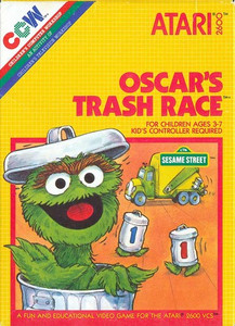 Oscar's Trash Race - Atari 2600 Game