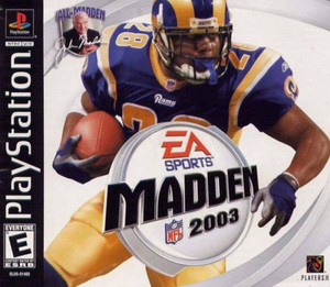 Madden 2003 - PS1 Game