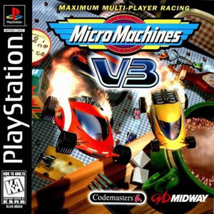 Micro Machines V3 - PS1 Game