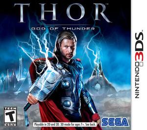 Thor God of Thunder - 3DS Game