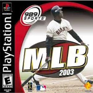 MLB 2003 Baseball - PS1 Game