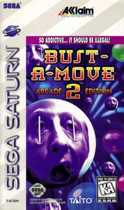 Bust a Move 2 Arcade Edition - Saturn Game