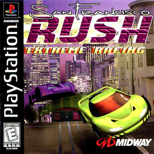 San Francisco Rush Extreme Racing - PS1 Game