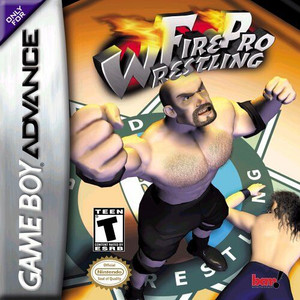 Complete Fire Pro Wrestling - Game Boy Advance Game