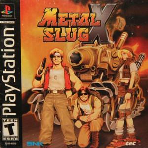 Metal Slug X - PS1 Game