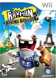 New Sealed Rayman Raving Rabbids 2 - Wii Game