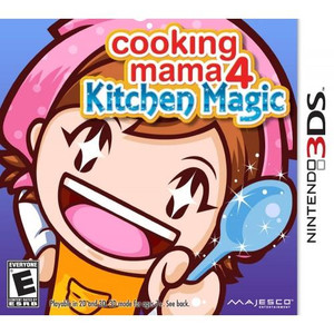 Cooking Mama 4 Kitchen Magic - 3DS Game