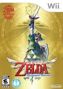 Legend of Zelda Skyward Sword - Wii Game