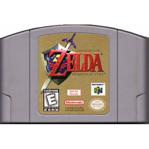 Not For Resale Zelda Ocarina of Time - N64 Game