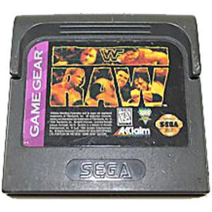 WWF Raw - Game Gear Game