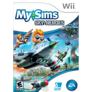 My Sims Sky Heroes - Wii Game