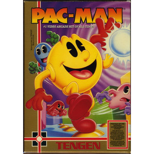 Pac -Man (Variant Tengen 10th Anniversay Box) - NES