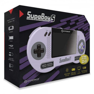 New SupaBoy S Handheld SNES in box for sale